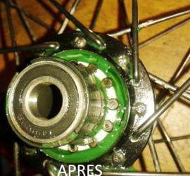graissage roue libre